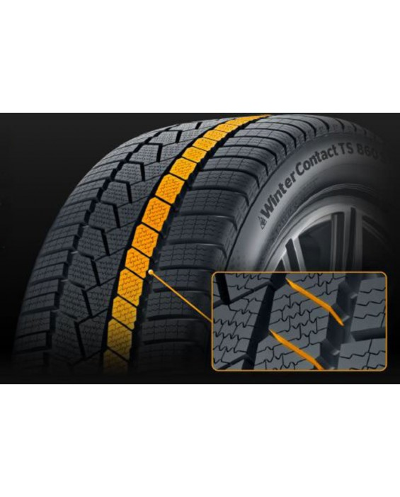 Anvelopa Iarna Continental Winter Contact Ts860s Run Flat 205/55R16H 91